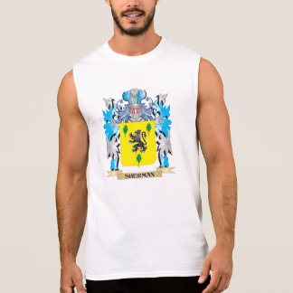 Sherman Coat of Arms - Family Crest Sleeveless Tees