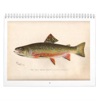 Sherman Denton Trout Calendar 2014