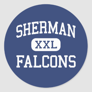 Sherman Falcons Middle Madison Wisconsin Sticker
