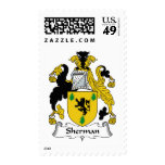 Sherman Family Crest Postage