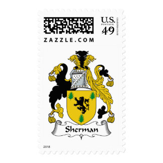 Sherman Family Crest Stamps