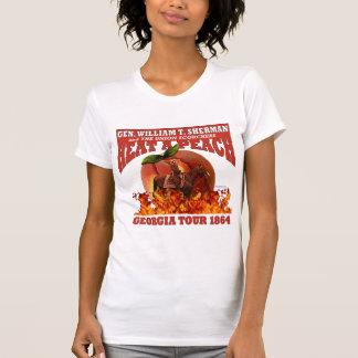Sherman 'Heat a Peach' Tour 1864 Shirt (W Light)