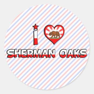 Sherman Oaks, CA Round Sticker