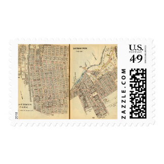 Sherman Park, New York 2 Stamp