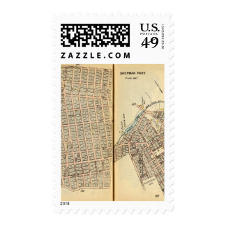 Sherman Park, New York Stamps