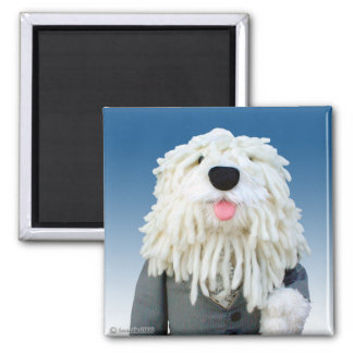 Sherman Sheepdog Magnet