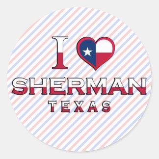 Sherman, Texas Stickers