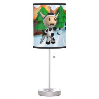 Sherman the Alaskan Cow Lamp