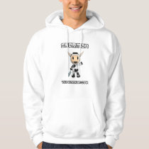 Sherman the Alaskan Cow Original Waving Hoodie