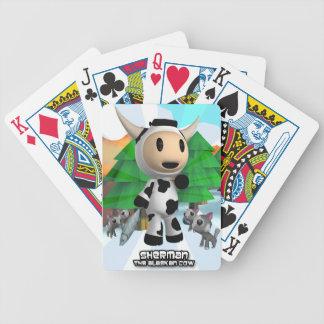 Sherman the Alaskan Cow Playing Cards