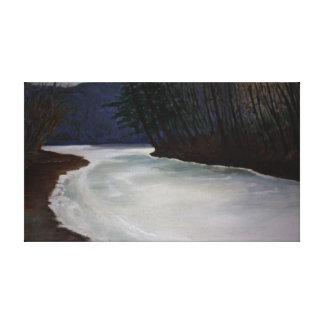 Sherman's Creek Thaw Canvas Print