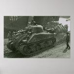 Shermans en Anzio Impresiones