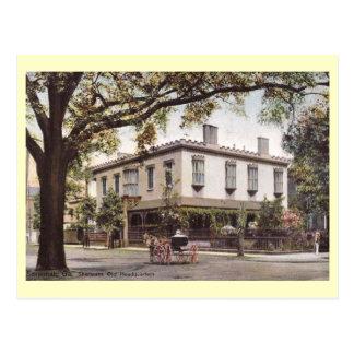 Sherman's Headquarters, Savannah, Georgia Vintage Postcard