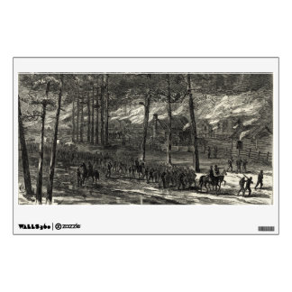 Sherman's March to the Sea Through South Carolina Wall Graphics