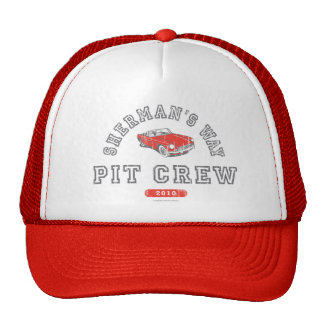 "Sherman's Way ""Pit Crew"" Trucker's Cap Trucker Hat"