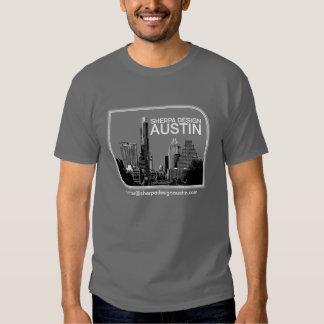 sherpa design austin t shirt