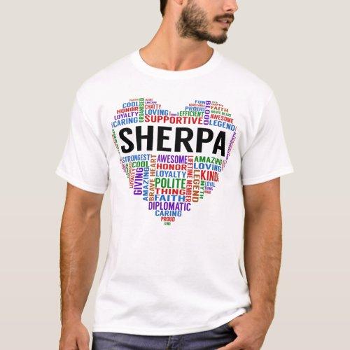 SHERPA Legend Heart T_Shirt