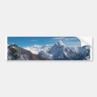 Sherpanis carrying climbing loads bumper sticker