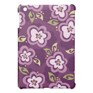 Sherrie Mod Graphic Flower Pattern iPad Case