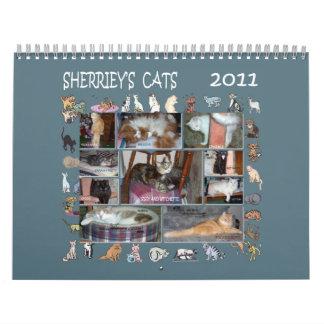 SHERRIEY S CATS WALL CALENDARS