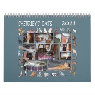 SHERRIEY'S CATS WALL CALENDARS