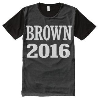 Sherrod Brown 2016 All-Over Print Shirt