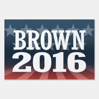 Sherrod Brown 2016 Lawn Sign