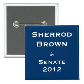 Sherrod Brown para el senado Pin