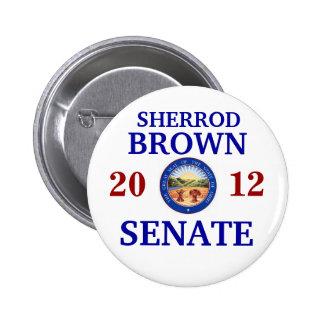 SHERROD BROWN PARA EL SENADO PINS