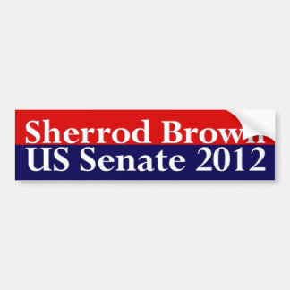 Sherrod Brown para la pegatina para el parachoques Etiqueta De Parachoque