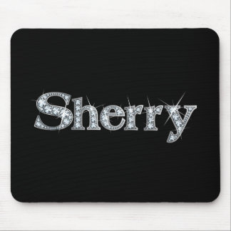 "Sherry ""Diamond Bling""  Mousepad"