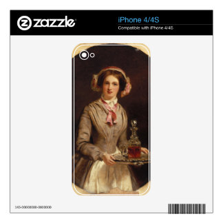'Sherry Sir?', 1853 (oil on canvas) Decals For iPhone 4