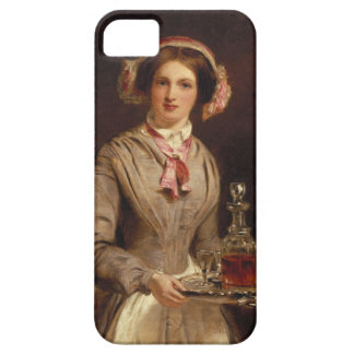 'Sherry Sir?', 1853 (oil on canvas) iPhone SE/5/5s Case