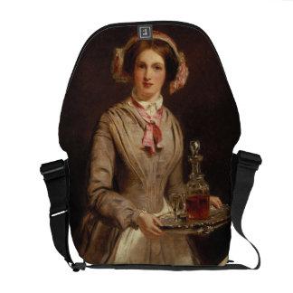 'Sherry Sir?', 1853 (oil on canvas) Messenger Bag