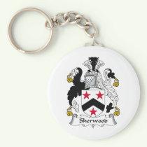 Sherwood Family Crest Keychain