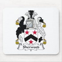 Sherwood Family Crest Mousepad
