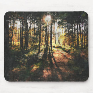 Sherwood Forest Sunset Mousepads