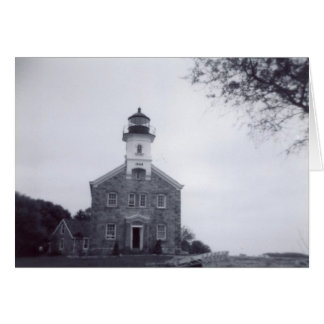 Sherwood Island Light House Card