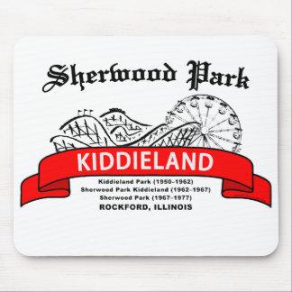 Sherwood Park Kiddieland, Rockford, IL. Amusement Mouse Pad