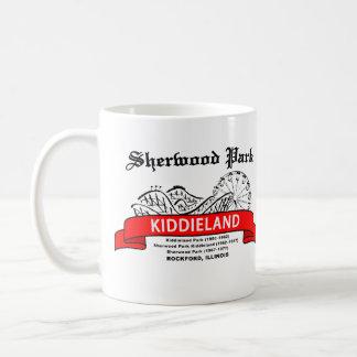 Sherwood Park Kiddieland, Rockford, IL. Amusement Classic White Coffee Mug