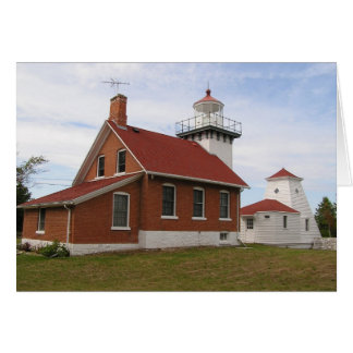 Sherwood Point Lighthouse Card