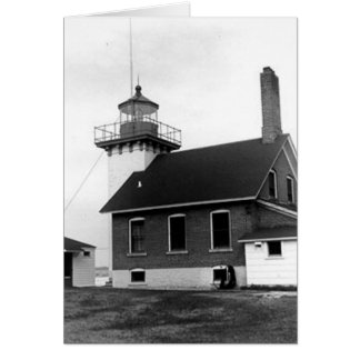Sherwood Point Lighthouse Greeting Card