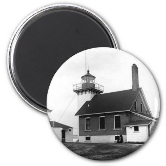 Sherwood Point Lighthouse 2 Inch Round Magnet