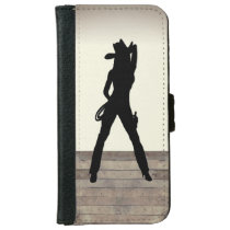 She's a Cowgirl iPhone 6/6s Wallet Case
