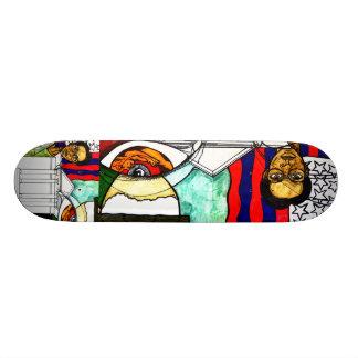 She's A Rider Skateboard Deck