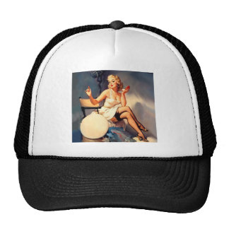 She's a Starlet Pin Up Girl Trucker Hat