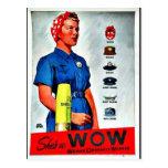 Shes A wow Tarjeta Postal