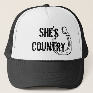 She's Country Trucker Hat