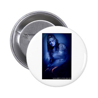 She's Dead by April A Taylor 2 Inch Round Button