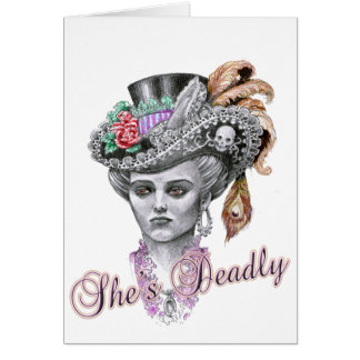 She's Deadly Card